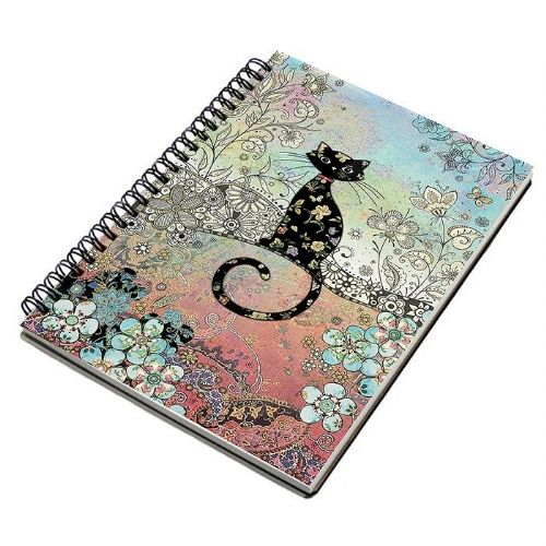 Bug Art Collection Cat A5 Notebook Pad
